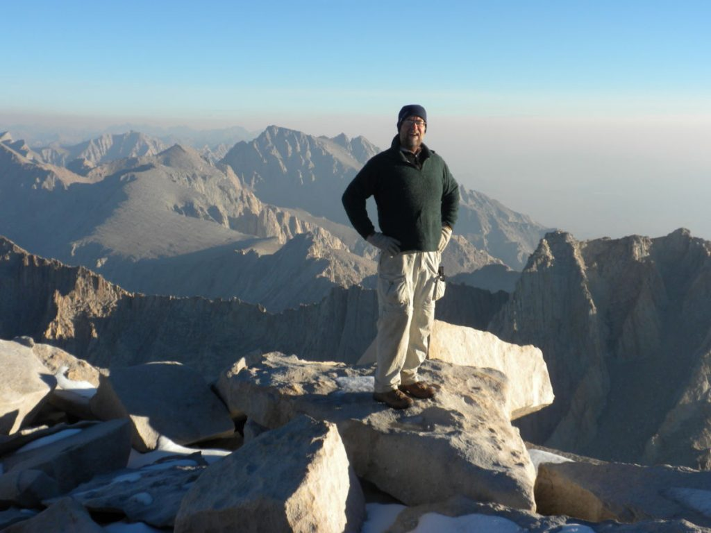 Top of Mt Whitney