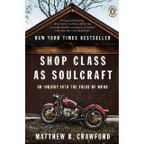 Shop Class As SoulCraft.  By Matthew Crawford