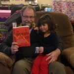 Reading The Demographic Cliff by Dent to my grand-daughter.