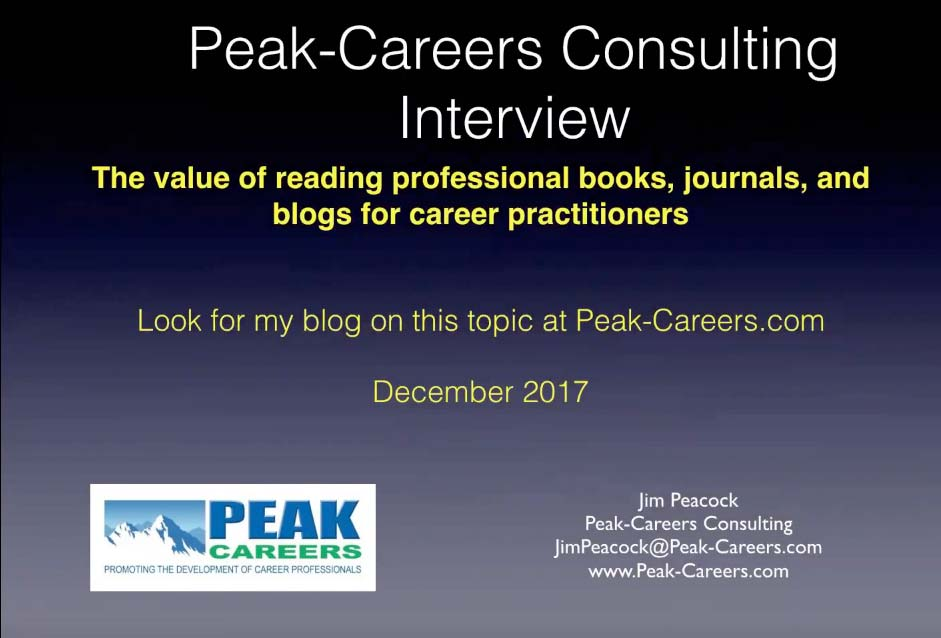 INTERVIEW: Value of Reading Professional Books, Journals