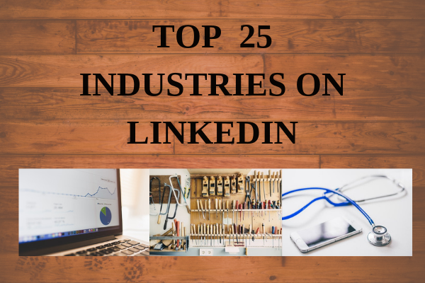 Top Industries on Linked