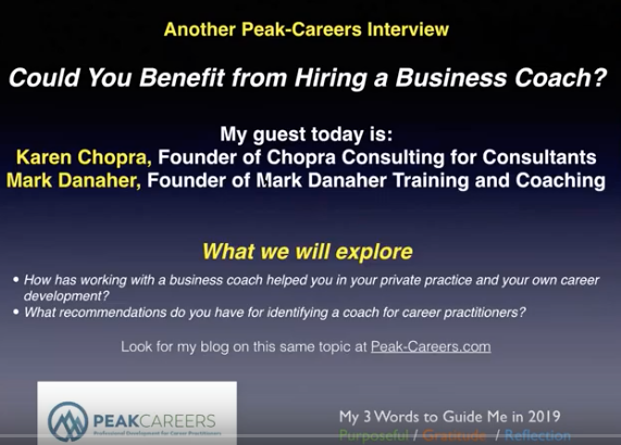 INTERVIEW:  Would You Benefit from Hiring a Business Coach?