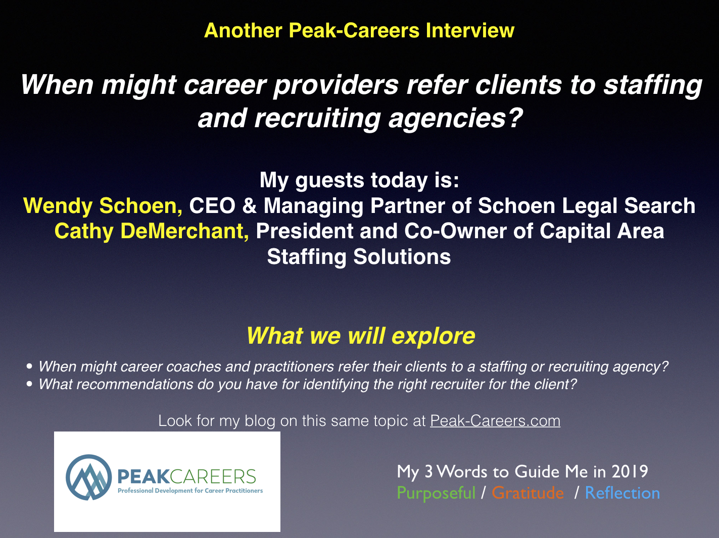 INTERVIEW: Staffing & Recruiting Agencies